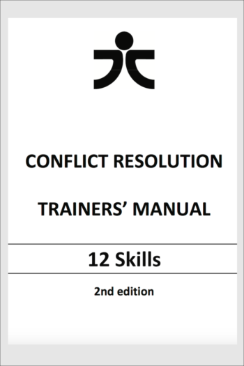 Cover image for Conflict Resolution Trainers' Manual - 12 Skills